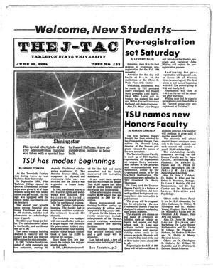 Primary view of object titled 'The J-TAC (Stephenville, Tex.), Ed. 1 Friday, June 29, 1984'.
