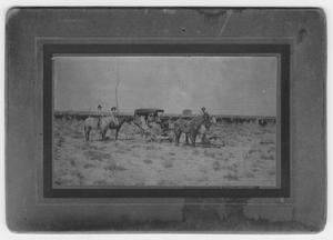 Primary view of object titled 'Figure 2 Ranch Hands and carriage'.