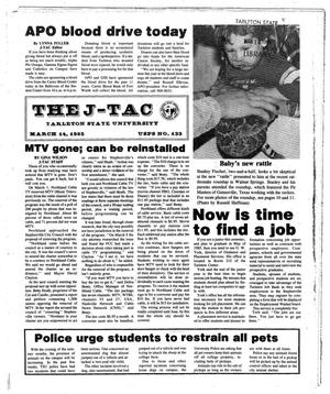 The J-TAC (Stephenville, Tex.), Ed. 1 Thursday, March 14, 1985