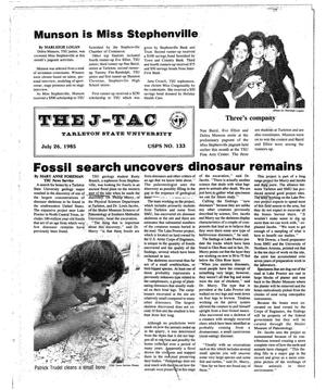 The J-TAC (Stephenville, Tex.), Ed. 1 Friday, July 26, 1985