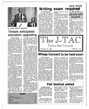 The J-TAC (Stephenville, Tex.), Ed. 1 Thursday, October 10, 1985