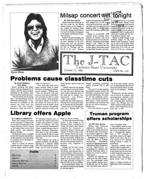 Primary view of object titled 'The J-TAC (Stephenville, Tex.), Ed. 1 Thursday, October 17, 1985'.