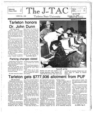 Primary view of object titled 'The J-TAC (Stephenville, Tex.), Ed. 1 Thursday, January 16, 1986'.