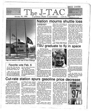 Primary view of The J-TAC (Stephenville, Tex.), Ed. 1 Thursday, January 30, 1986