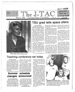 Primary view of object titled 'The J-TAC (Stephenville, Tex.), Ed. 1 Thursday, March 6, 1986'.