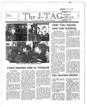 Primary view of object titled 'The J-TAC (Stephenville, Tex.), Ed. 1 Thursday, March 13, 1986'.