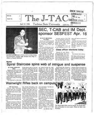 Primary view of The J-TAC (Stephenville, Tex.), Ed. 1 Thursday, April 10, 1986