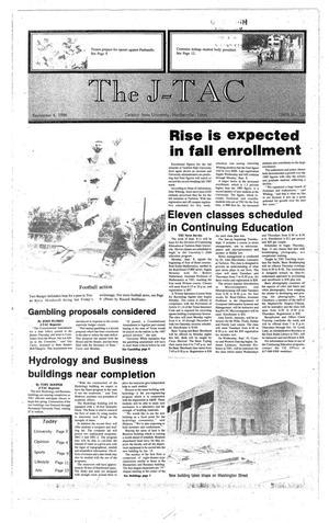 Primary view of The J-TAC (Stephenville, Tex.), Ed. 1 Thursday, September 4, 1986