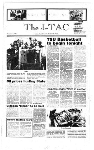 Primary view of The J-TAC (Stephenville, Tex.), Ed. 1 Thursday, November 6, 1986