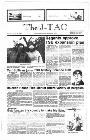 Primary view of object titled 'The J-TAC (Stephenville, Tex.), Ed. 1 Thursday, January 29, 1987'.