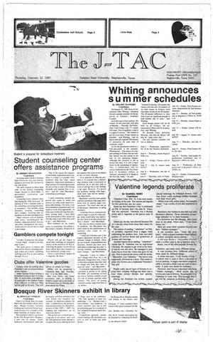Primary view of The J-TAC (Stephenville, Tex.), Ed. 1 Thursday, February 12, 1987