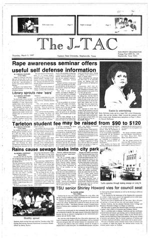 Primary view of object titled 'The J-TAC (Stephenville, Tex.), Ed. 1 Thursday, March 5, 1987'.