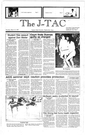 Primary view of The J-TAC (Stephenville, Tex.), Ed. 1 Thursday, March 12, 1987