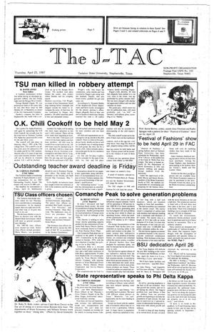 The J-TAC (Stephenville, Tex.), Ed. 1 Thursday, April 23, 1987