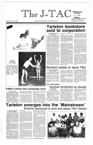 The J-TAC (Stephenville, Tex.), Ed. 1 Friday, July 17, 1987