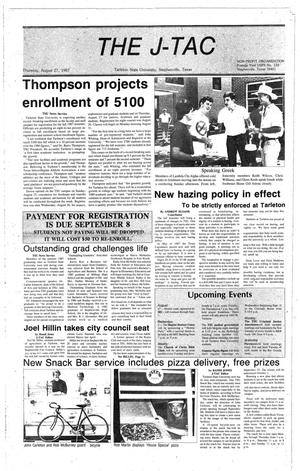 Primary view of The J-TAC (Stephenville, Tex.), Ed. 1 Thursday, August 27, 1987