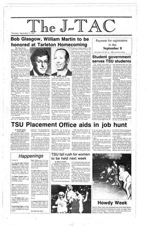 Primary view of The J-TAC (Stephenville, Tex.), Ed. 1 Thursday, September 3, 1987