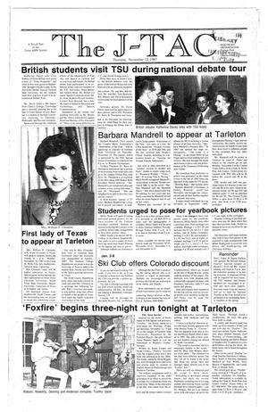 Primary view of The J-TAC (Stephenville, Tex.), Ed. 1 Thursday, November 12, 1987