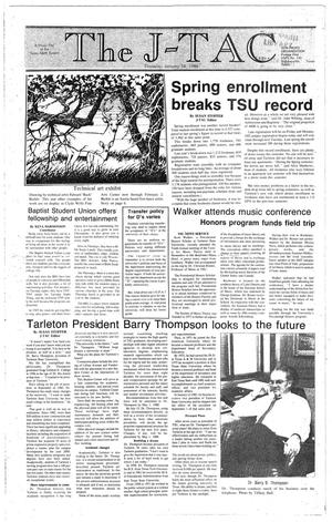 The J-TAC (Stephenville, Tex.), Ed. 1 Thursday, January 14, 1988