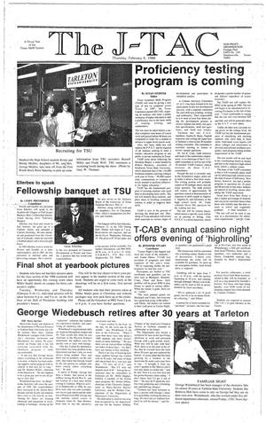 The J-TAC (Stephenville, Tex.), Ed. 1 Thursday, February 4, 1988