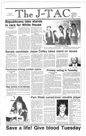The J-TAC (Stephenville, Tex.), Ed. 1 Thursday, March 3, 1988
