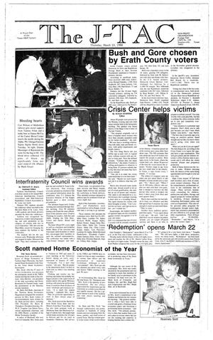 The J-TAC (Stephenville, Tex.), Ed. 1 Thursday, March 10, 1988