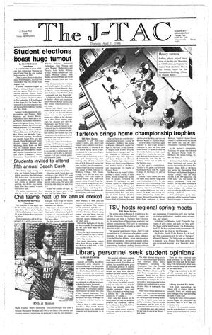 The J-TAC (Stephenville, Tex.), Ed. 1 Thursday, April 21, 1988