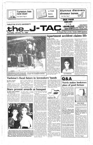 Primary view of object titled 'The J-TAC (Stephenville, Tex.), Ed. 1 Thursday, January 12, 1989'.
