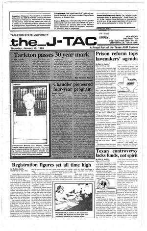 Primary view of object titled 'The J-TAC (Stephenville, Tex.), Ed. 1 Thursday, January 19, 1989'.