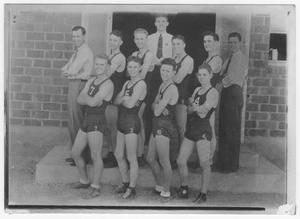 Primary view of object titled '[Athletic Team 1937]'.