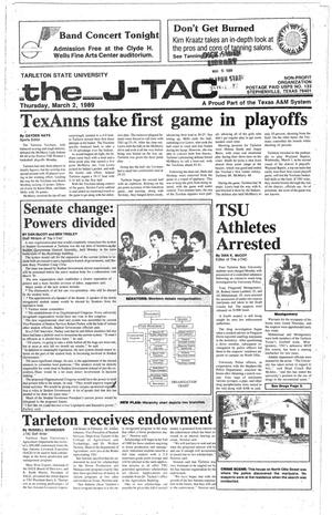 The J-TAC (Stephenville, Tex.), Ed. 1 Thursday, March 2, 1989