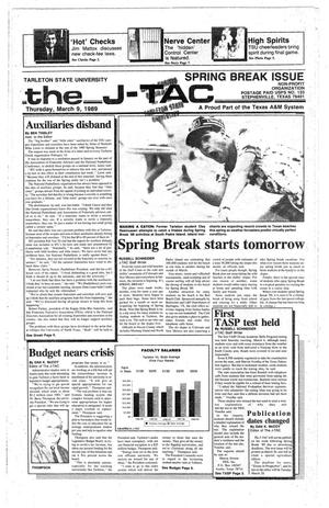 The J-TAC (Stephenville, Tex.), Ed. 1 Thursday, March 9, 1989