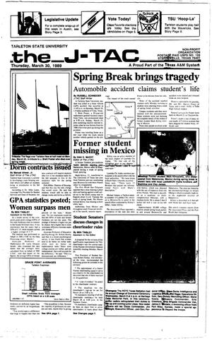 The J-TAC (Stephenville, Tex.), Ed. 1 Thursday, March 30, 1989