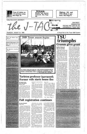 Primary view of object titled 'The J-TAC (Stephenville, Tex.), Ed. 1 Thursday, August 24, 1989'.