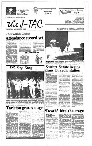 The J-TAC (Stephenville, Tex.), Ed. 1 Thursday, November 9, 1989