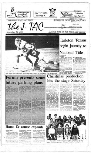 The J-TAC (Stephenville, Tex.), Ed. 1 Thursday, November 29, 1990