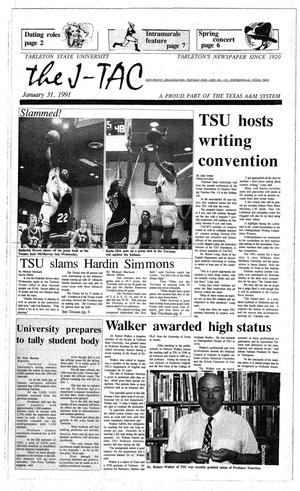 The J-TAC (Stephenville, Tex.), Ed. 1 Thursday, January 31, 1991