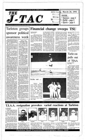 The J-TAC (Stephenville, Tex.), Ed. 1 Thursday, March 21, 1991