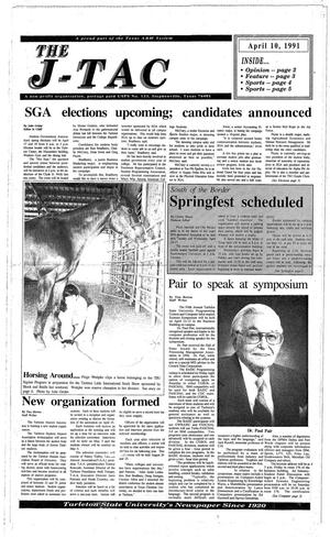 The J-TAC (Stephenville, Tex.), Ed. 1 Thursday, April 11, 1991