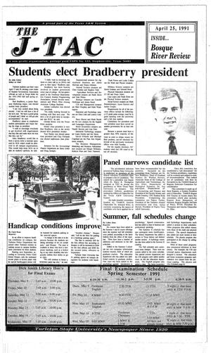 The J-TAC (Stephenville, Tex.), Ed. 1 Thursday, April 25, 1991