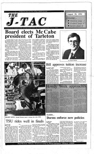 The J-TAC (Stephenville, Tex.), Ed. 1 Thursday, August 29, 1991