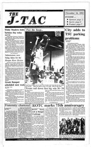 Primary view of The J-TAC (Stephenville, Tex.), Ed. 1 Thursday, November 14, 1991