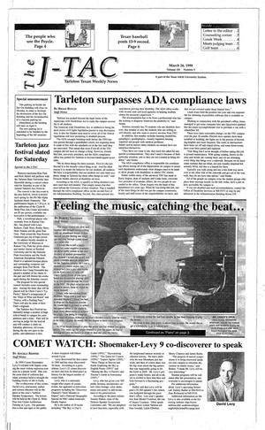 The J-TAC (Stephenville, Tex.), Vol. 155, No. 9, Ed. 1 Thursday, March 26, 1998