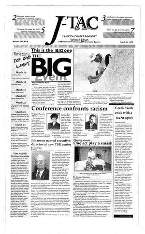 The J-TAC (Stephenville, Tex.), Vol. 157, No. 8, Ed. 1 Thursday, March 11, 1999