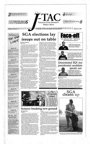 The J-TAC (Stephenville, Tex.), Vol. 157, No. 11, Ed. 1 Thursday, April 15, 1999