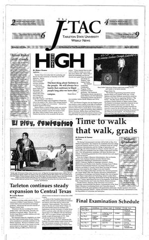 The J-TAC (Stephenville, Tex.), Vol. 157, No. 13, Ed. 1 Thursday, April 29, 1999