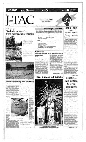 Primary view of object titled 'The J-TAC (Stephenville, Tex.), Vol. 158, No. 4, Ed. 1 Thursday, September 23, 1999'.