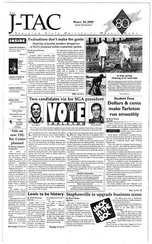 The J-TAC (Stephenville, Tex.), Vol. 159, No. 8, Ed. 1 Thursday, March 30, 2000