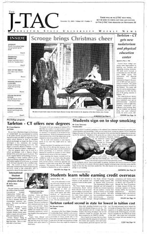 The J-TAC (Stephenville, Tex.), Vol. 160, No. 11, Ed. 1 Thursday, November 16, 2000