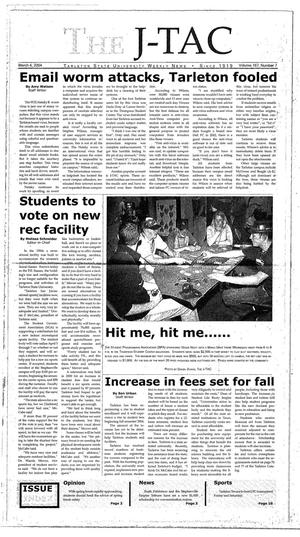 Primary view of The J-TAC (Stephenville, Tex.), Vol. 167, No. 7, Ed. 1 Thursday, March 4, 2004